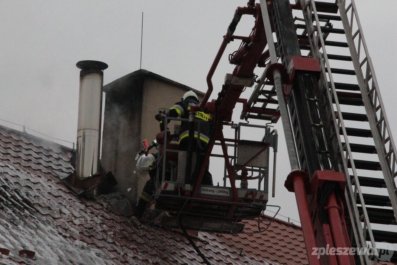 Co było przyczyną pożaru szkoły w Choczu? Policjanci odpowiadają - Zdjęcie główne
