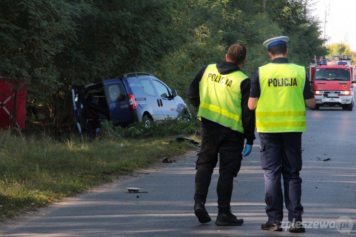 Śmiertelny wypadek w Bogusławicach. Nie żyje jedna osoba [ZDJĘCIA] - Zdjęcie główne