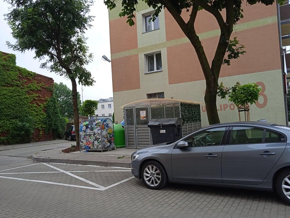 Pleszew. Mieszkańcy: - Tuż pod naszymi oknami stanął śmietnik! - Zdjęcie główne