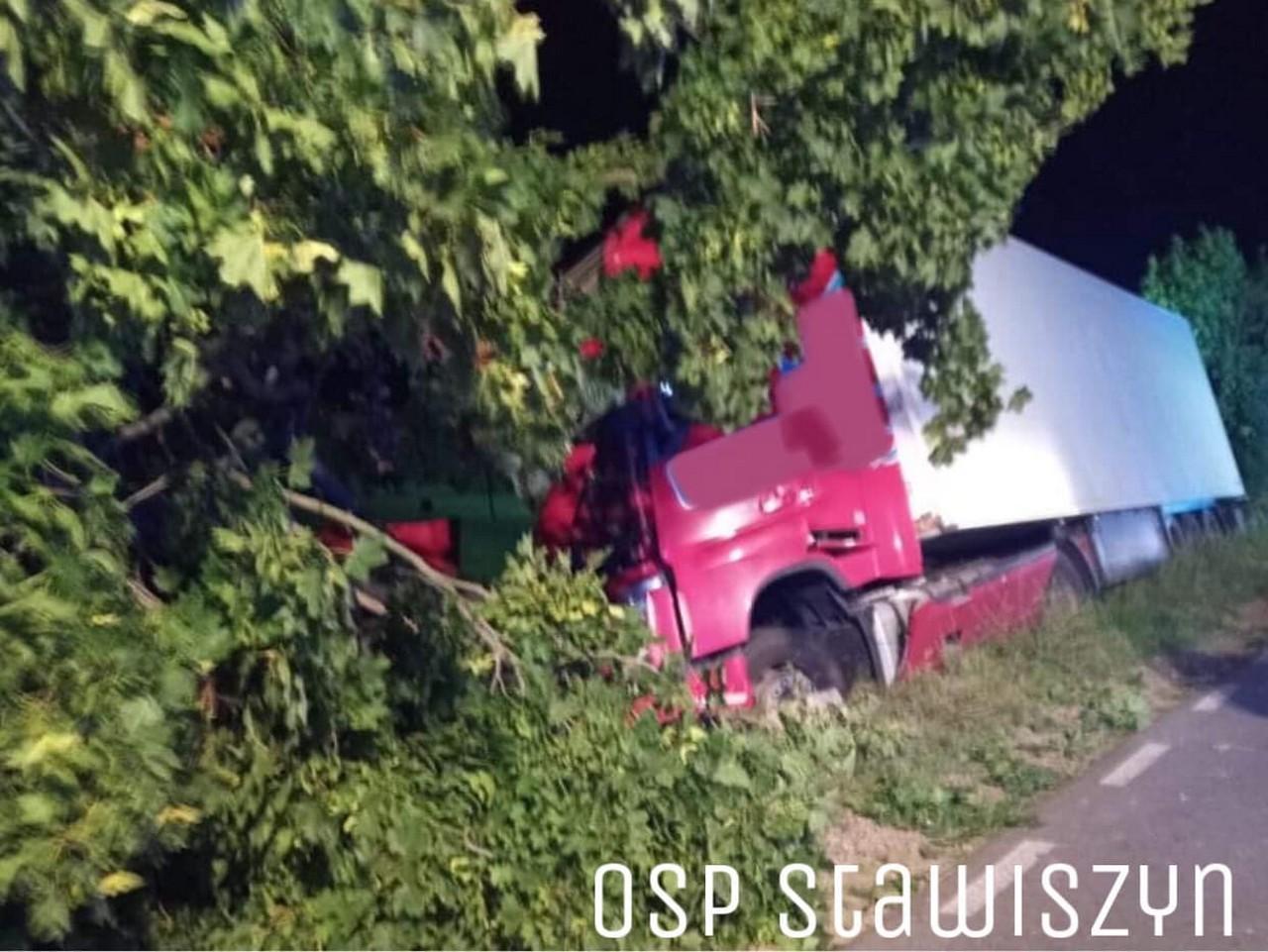 Tragiczny wypadek w gminie Blizanów. Nie żyje 30-latek z powiatu pleszewskiego - Zdjęcie główne