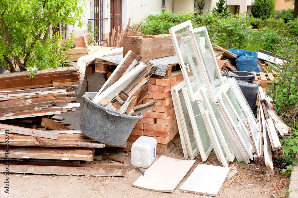 Co zrobić z odpadami z budowy i po remontach?  - Zdjęcie główne