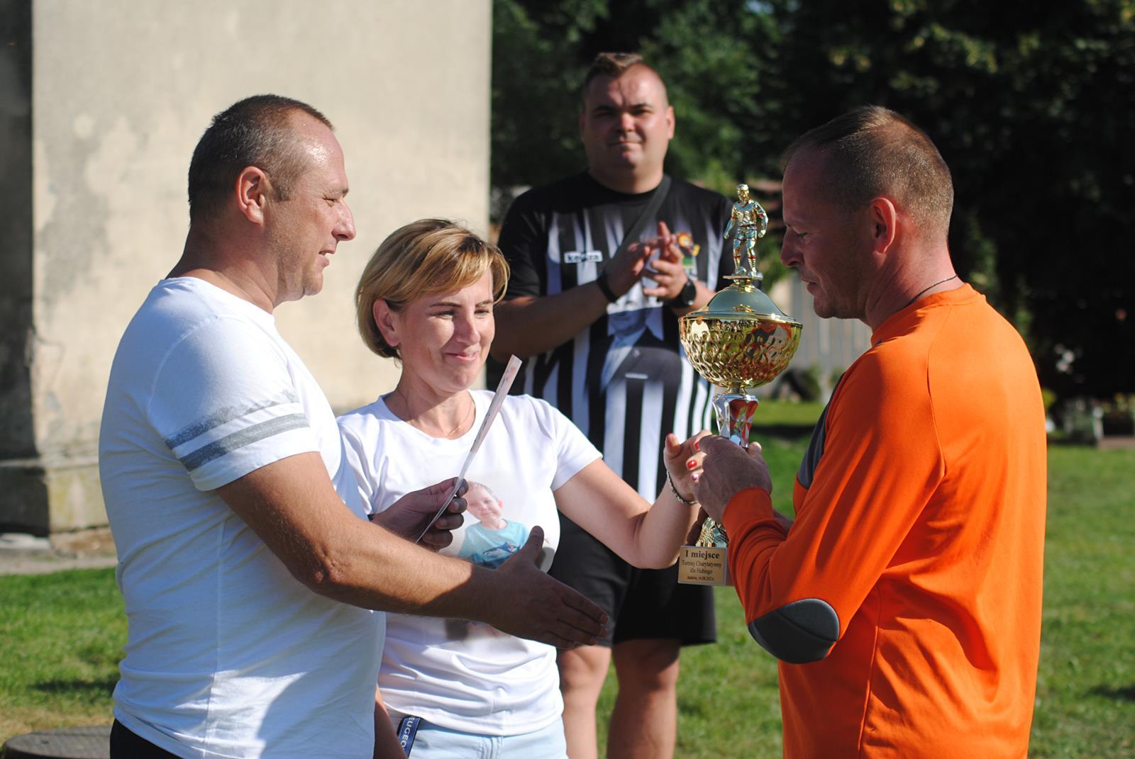 """Janków. Charytatywny Turniej Piłkarski Drużyna Grzesia dla """"Hubiego"""" [ZDJĘCIA] - Zdjęcie główne"""