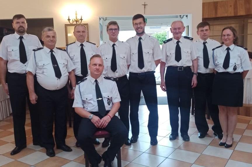 Pleszew. Strażacy z nowymi władzami  - Zdjęcie główne