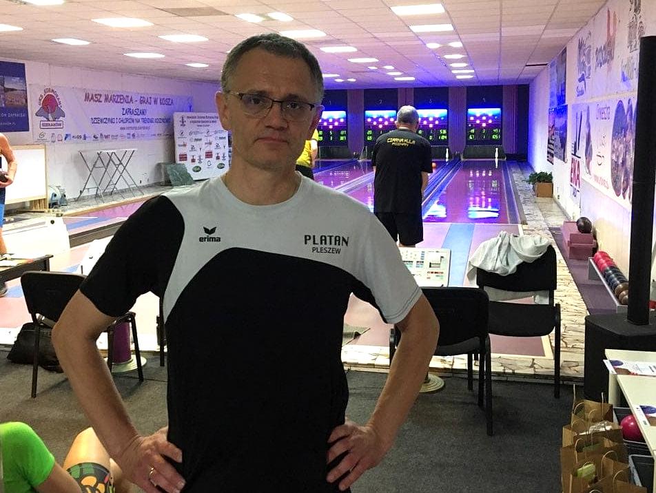 Mistrzostwa Polski Seniorów U50 w Kręglarstwie Klasycznym. Świetny występ Janusza Jezierskiego - Zdjęcie główne