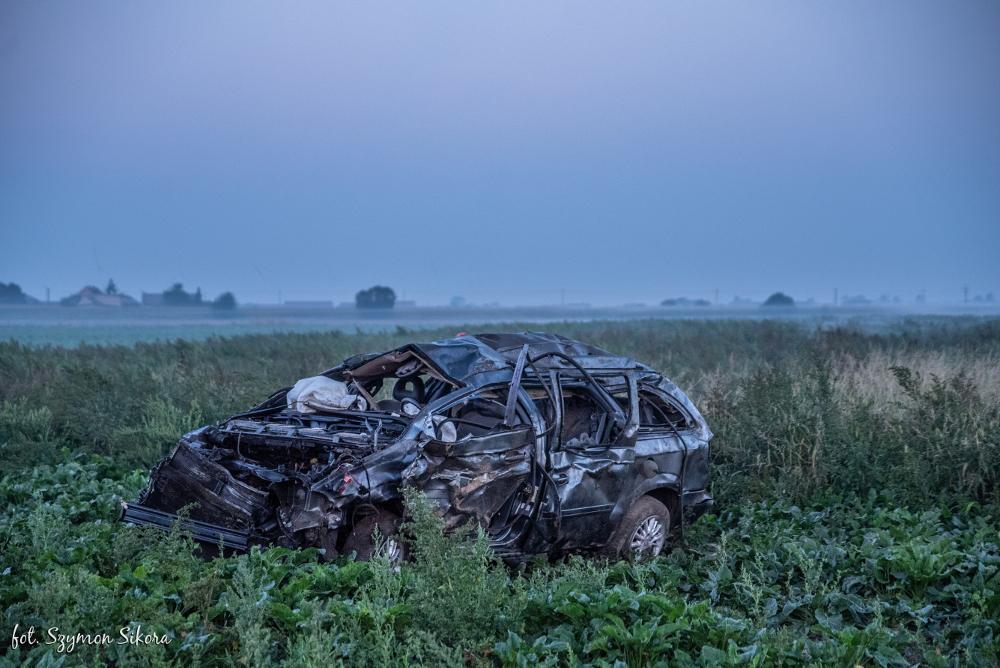 Wypadek śmiertelny na trasie Koźmin Wlkp. - Wałków - Zdjęcie główne