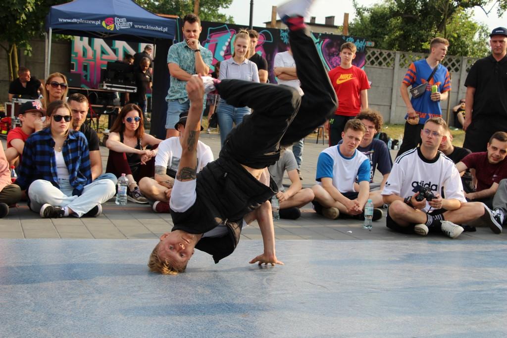 Pleszew. Dzieje się w Zajezdni Kultury! Taniec uliczny, graffiti. Wielkie święto hip-hop! - Zdjęcie główne