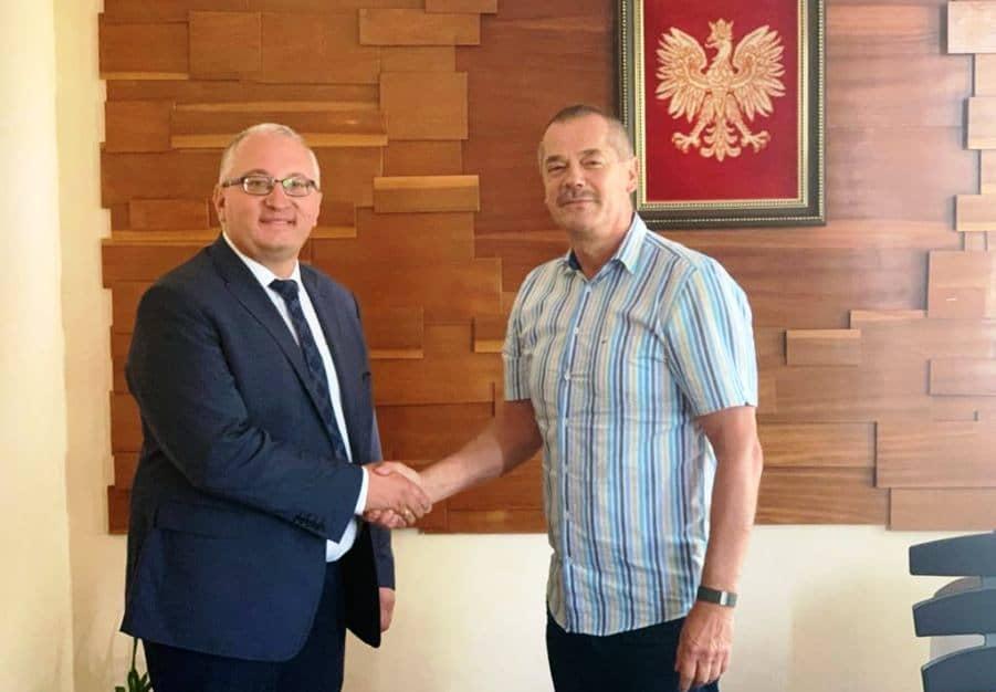 Dwie gminy Czermin, dwóch Sławomirów - czyli ciekawe spotkanie samorządowców - Zdjęcie główne