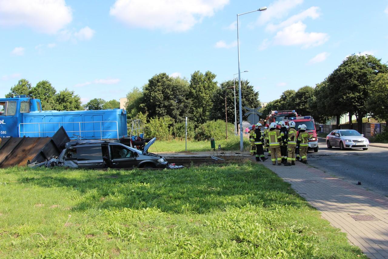 Pleszew. Znamy przyczynę wypadku na przejeździe kolejowym  - Zdjęcie główne