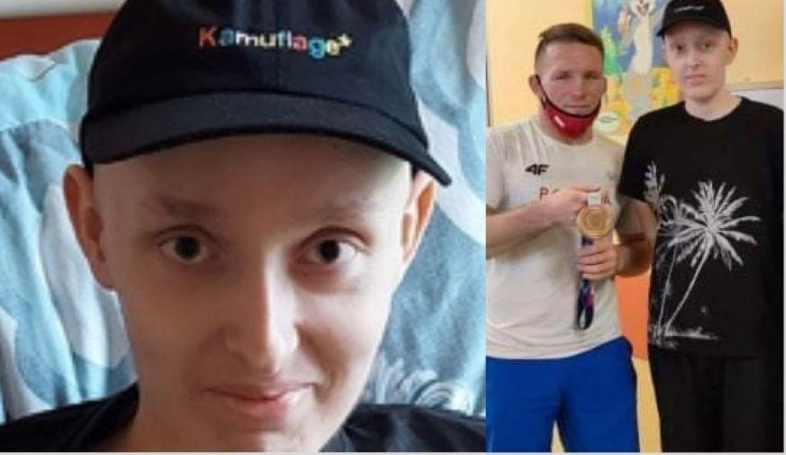 14-letni Kamil walczy z nowotworem. Trwa zbiórka na jego leczenie - Zdjęcie główne