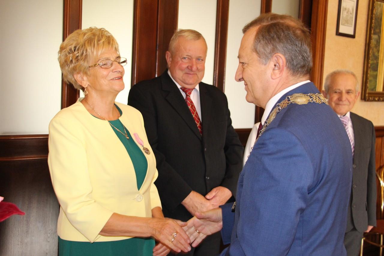 Małżeństwa z gminy Gołuchów odznaczone Medalami za Długoletnie Pożycie  - Zdjęcie główne