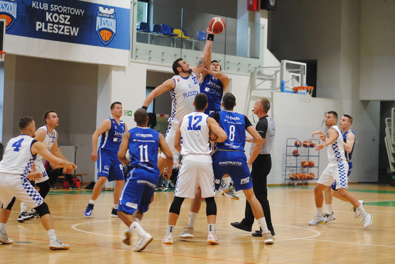 II liga koszykówki. Koszykarski thriller w Pleszewie - Zdjęcie główne