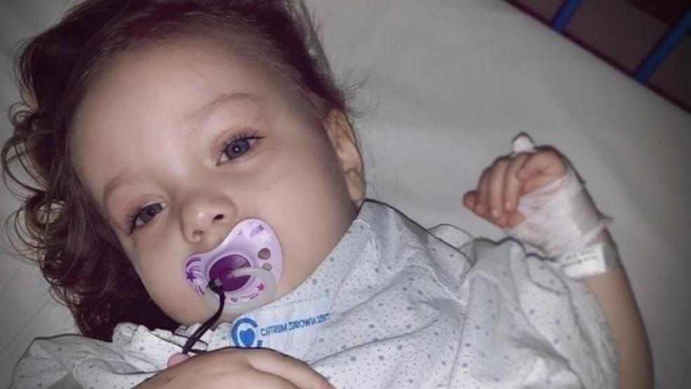 U 3-letniej Kai wykryto złośliwego guza mózgu. Możesz pomóc - Zdjęcie główne