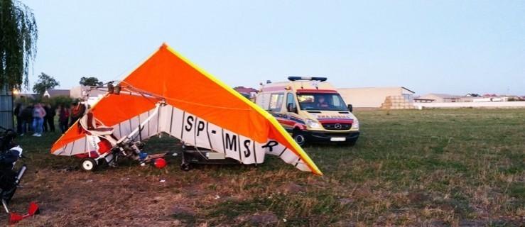 Wypadek motolotni. 63-latek z poważnymi obrażeniami  - Zdjęcie główne