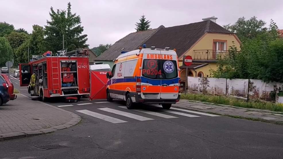 Kolejny tragiczny wypadek w Wielkopolsce. Mężczyznę przejechał samochód - Zdjęcie główne
