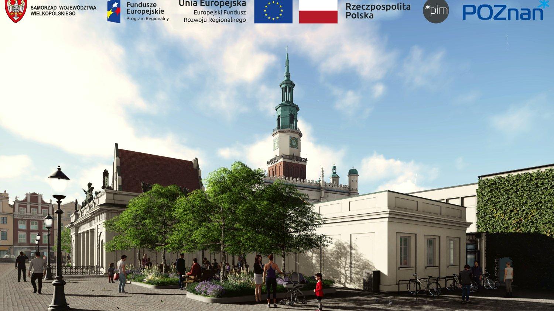 Stary Rynek w Poznaniu przejdzie metamorfozę - Zdjęcie główne