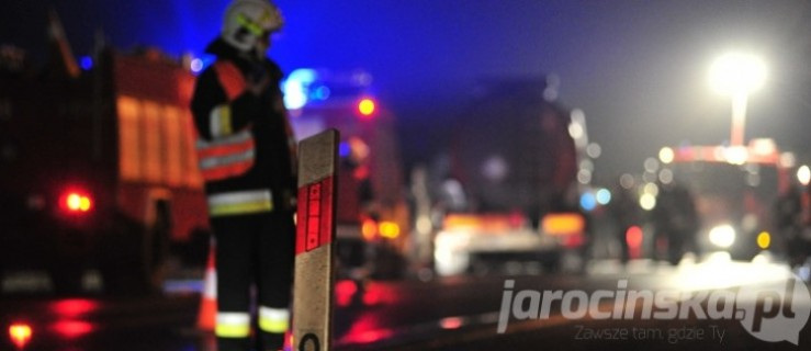DK 11 zablokowana po wypadku na południu województwa - Zdjęcie główne