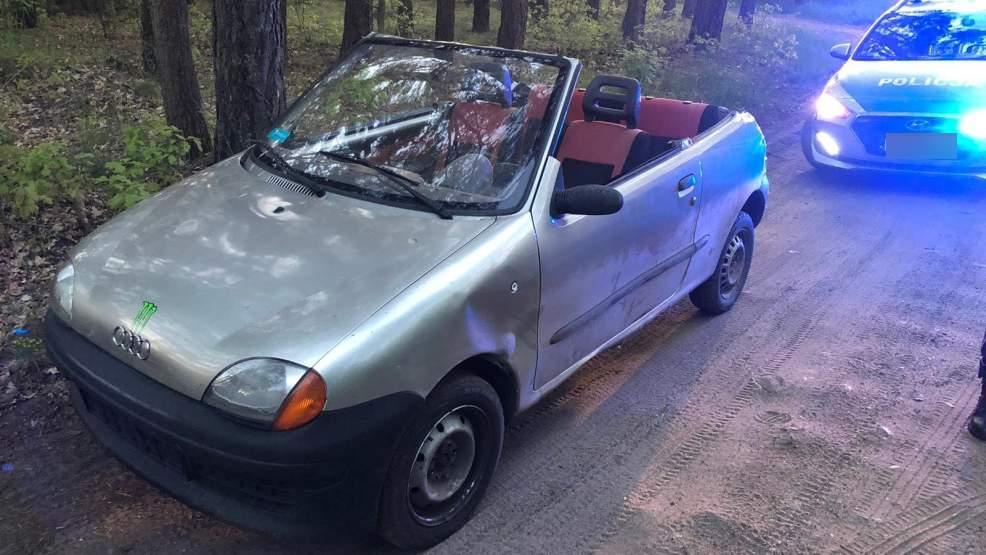 """Nietypowe """"cabrio"""" na drodze. Policjanci nie mogli uwierzyć - Zdjęcie główne"""
