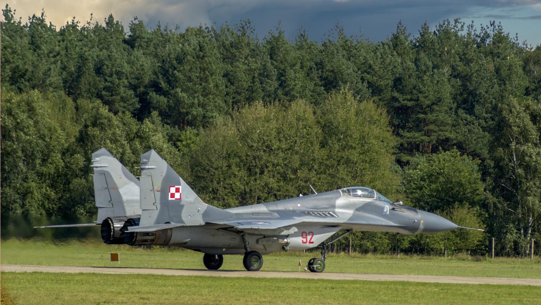 Polski MiG-29 przypadkowo ostrzelał polskiego myśliwca. Niebezpieczny incydent w Nadarzycach - Zdjęcie główne