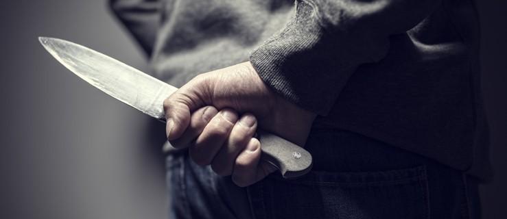 Z nożem w ręku dobijał się do sąsiada? - Zdjęcie główne