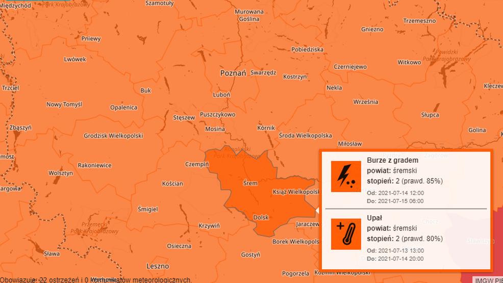 Kolejne burze w Wielkopolsce. Czy będą kolejne podtopienia w naszym województwie? - Zdjęcie główne