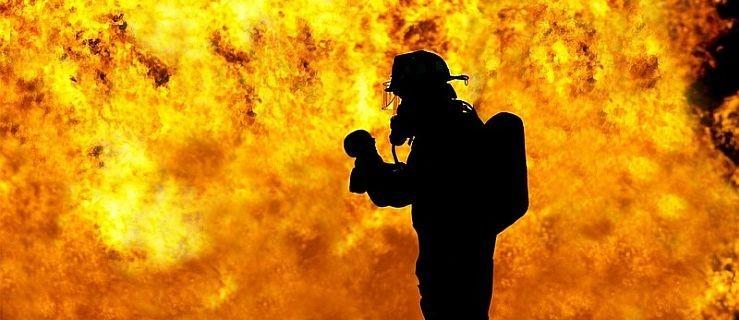 Podczas nocnego pożaru strażacy znaleźli zwęglone ciało  - Zdjęcie główne