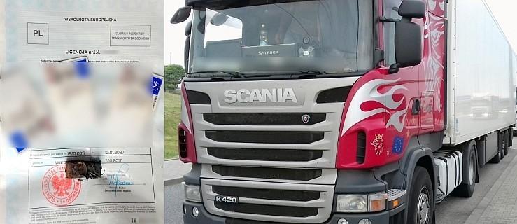 Prowadzili ciężarówkę bez przerwy 12 godzin każdy. Kara dla zespołu kierowców - Zdjęcie główne