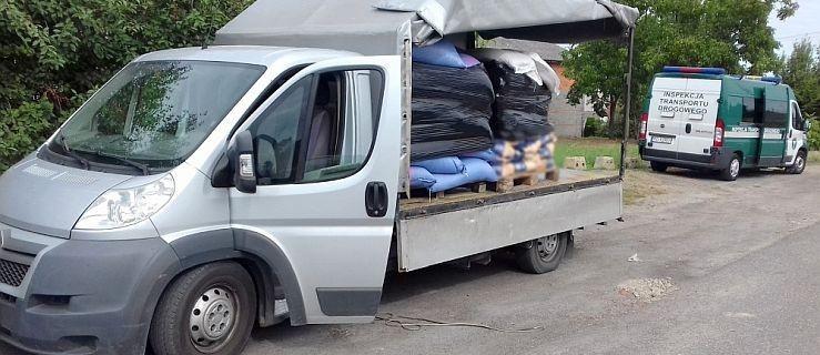 Bus przeładowany o ponad 1,5 tony. Dodatkowo kierowca nie zabezpieczył towaru - Zdjęcie główne