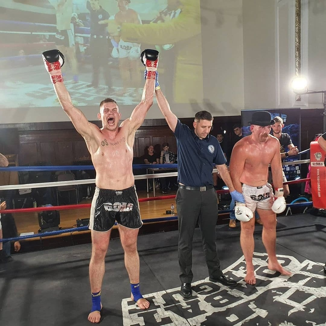 Pleszewianin Mateusz Duczmal zawodowym mistrzem świata w muay thai - Zdjęcie główne