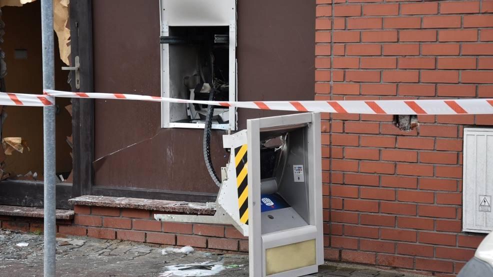 Wysadzono kolejny bankomat w Wielkopolsce  - Zdjęcie główne