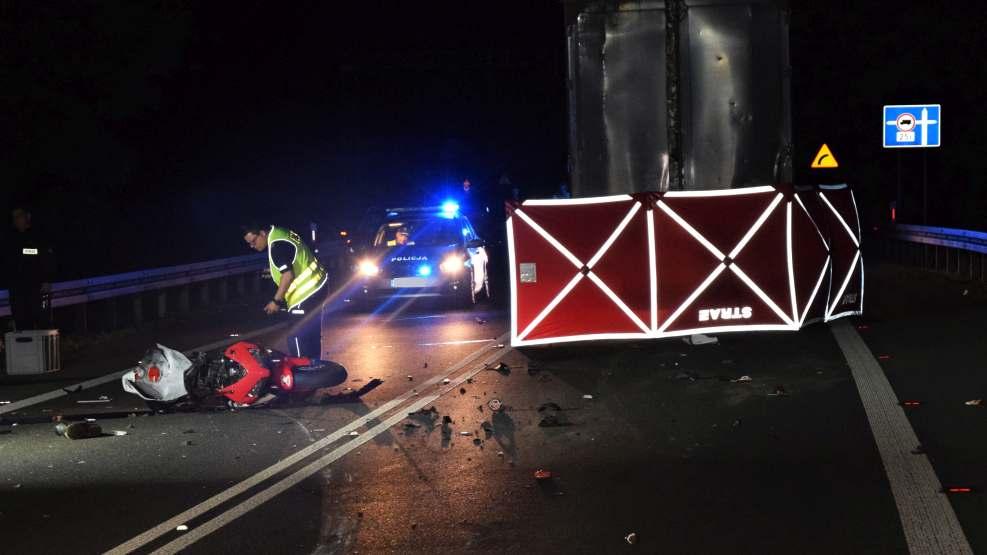 Śmiertelny wypadek z udziałem motocyklisty. Nie żyje kierowca - Zdjęcie główne