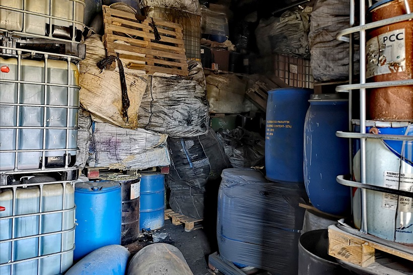 Kalisz. 3.200 ton odpadów chemicznych - Zdjęcie główne