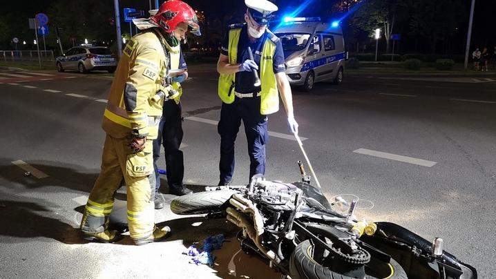 Tragedia w Lesznie. Zginął 46-letni motocyklista  - Zdjęcie główne