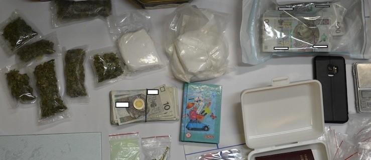 Amfetamina, marihuana i ekstazy o wartości pół miliona złotych - Zdjęcie główne