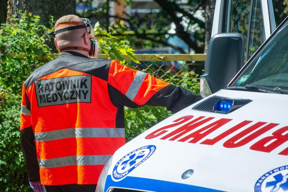 Wypadek w okolicy Budzynia. Ranna ośmioosobowa rodzina z Wielkopolski - Zdjęcie główne