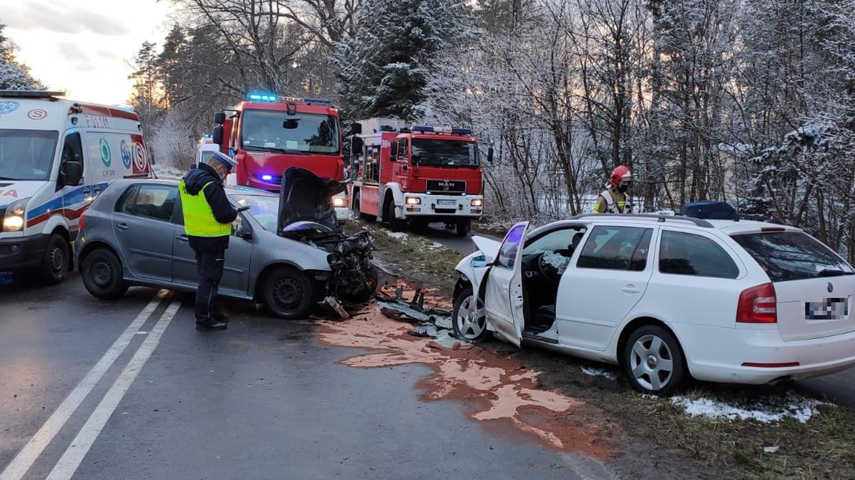 Tragiczny wypadek pod Lesznem. Nie żyje roczne dziecko - Zdjęcie główne