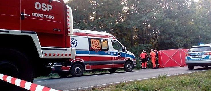 Śmiertelne zderzenie osobówki z busem. Dwie osoby zginęły  - Zdjęcie główne