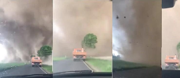 Łowcy burz pokazują tornado, ktore przeszło w Niemczech. Szokujące nagranie - Zdjęcie główne