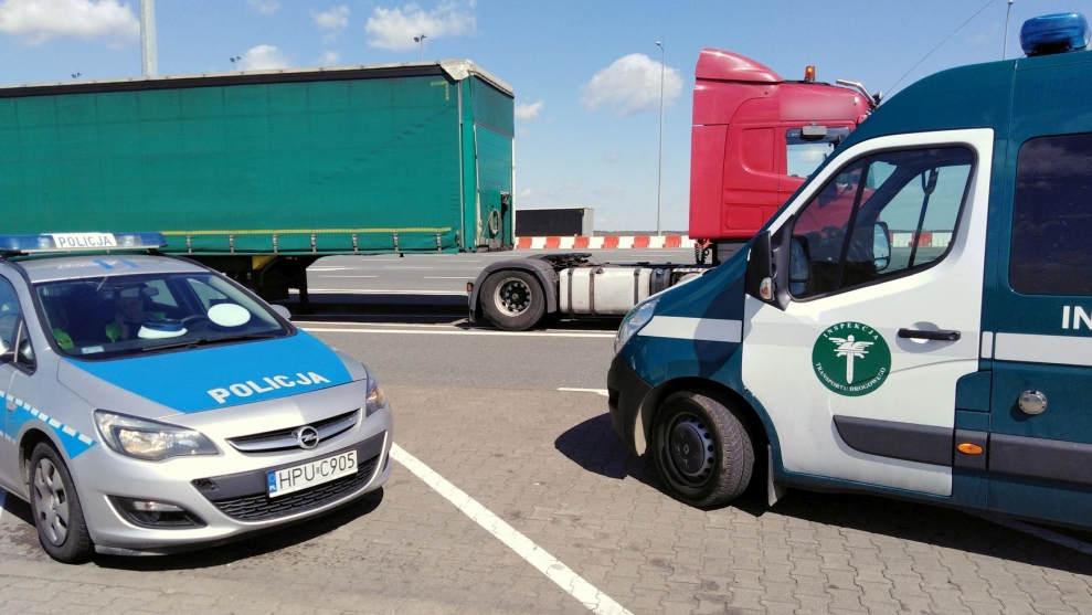 2 tysiące zł mandatu dla kierowcy ciężarówki za magnes - Zdjęcie główne