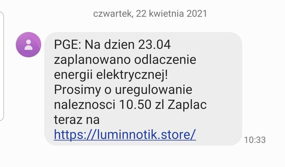"""""""Planowane odłączenie prądu"""" - kolejny pomysł internetowych oszustów - Zdjęcie główne"""