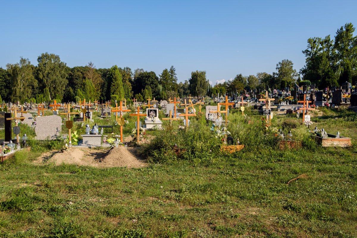 Brakuje miejsc na cmentarzu - Zdjęcie główne