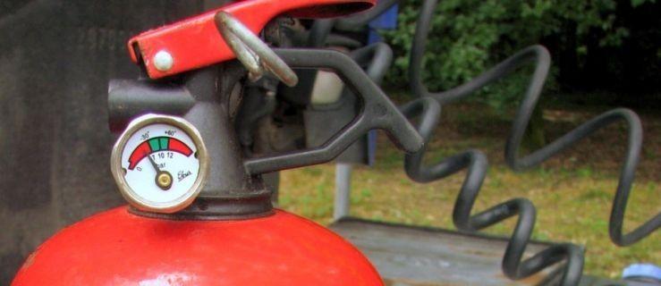 Przewoził niebezpieczne materiały bez działającej gaśnicy  - Zdjęcie główne