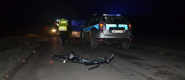 Zginął rowerzysta. Nie pomyślał o odblaskach - Zdjęcie główne