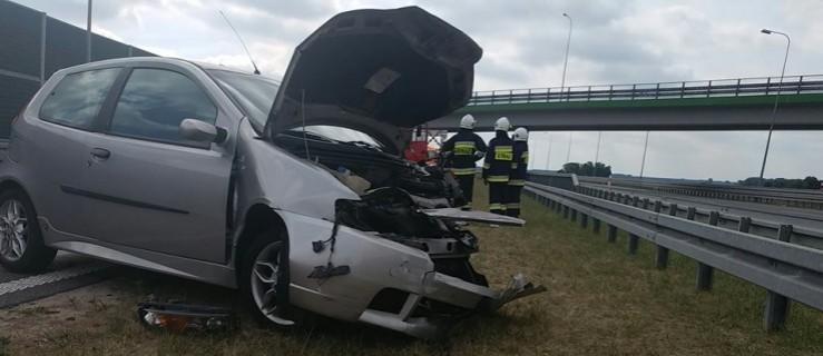 Wypadek na wielkopolskim odcinku S5. Dwie osoby trafiły do szpitala  - Zdjęcie główne