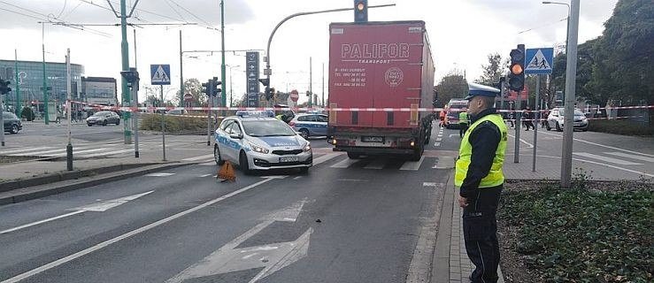 Śmiertelne potrącenie pieszego przez ciężarówkę  - Zdjęcie główne